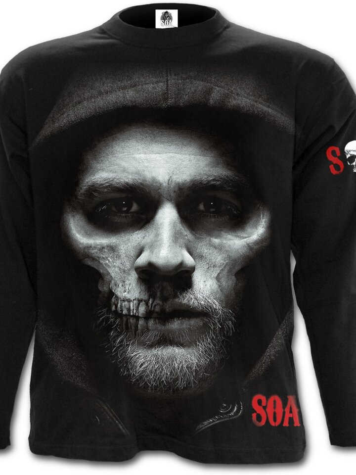 Zdjęcie lifestyle Long Sleeve with design Sons of Anarchy Half Skull