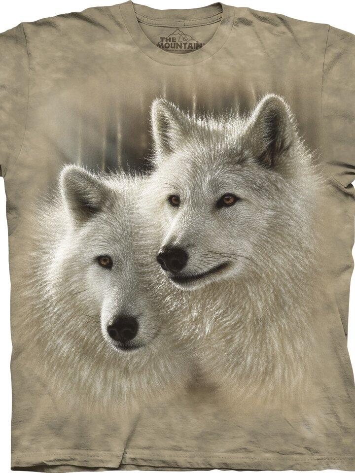 Lifestyle photo T-shirt with Short Sleeve Wolf Couple