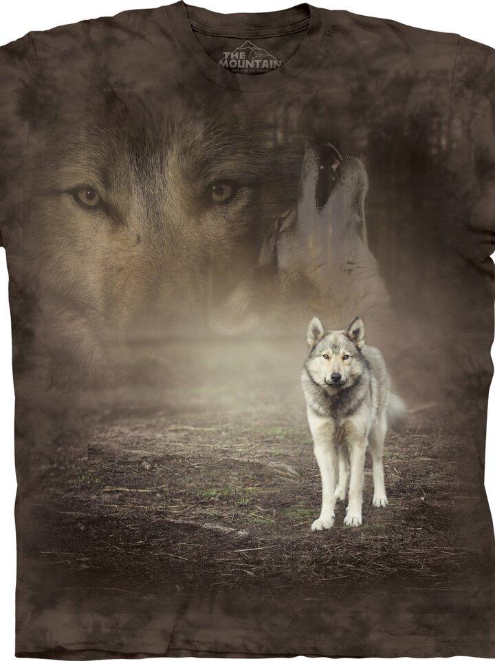 Výpredaj Tričko s krátkym rukávom Život vlka