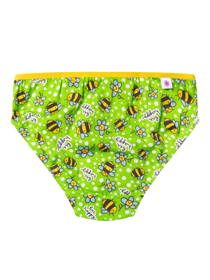 Looking for an original and unusual gift? The gifted person will surely surprise with Girls' Briefs Bees