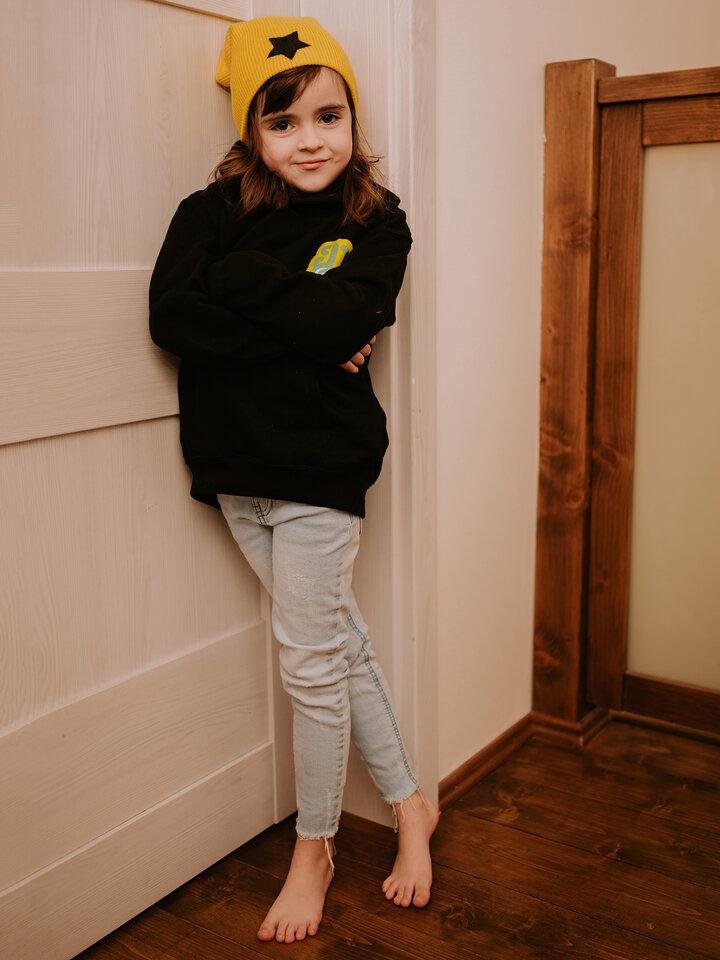 Foto Veselá dětská mikina Dedoles křeček