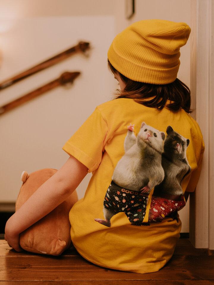 Tip na darček Veselé detské tričko Dedoles škrečky