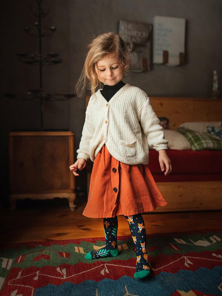 Zľava Veselé detské pančušky Hrdzavá líška