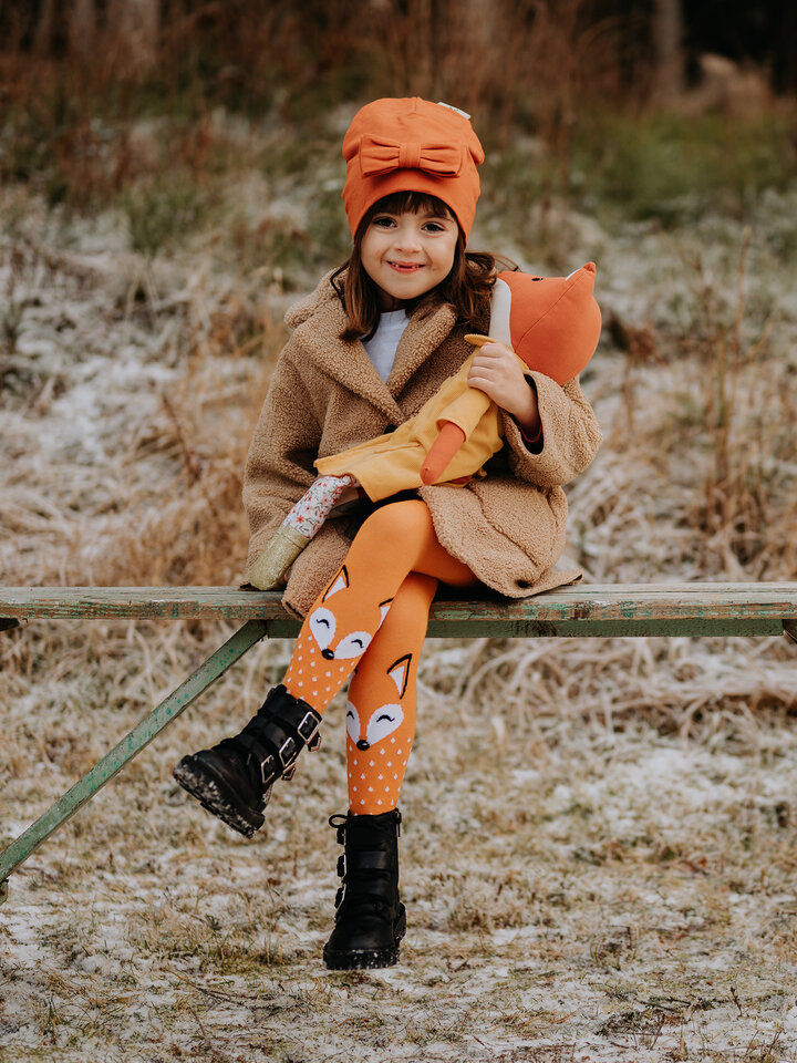 Sale Kids' Tights Fluffy Fox