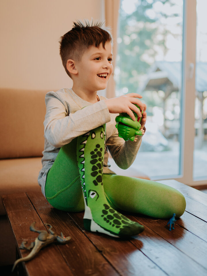 Sale Kids' Tights Crocodile