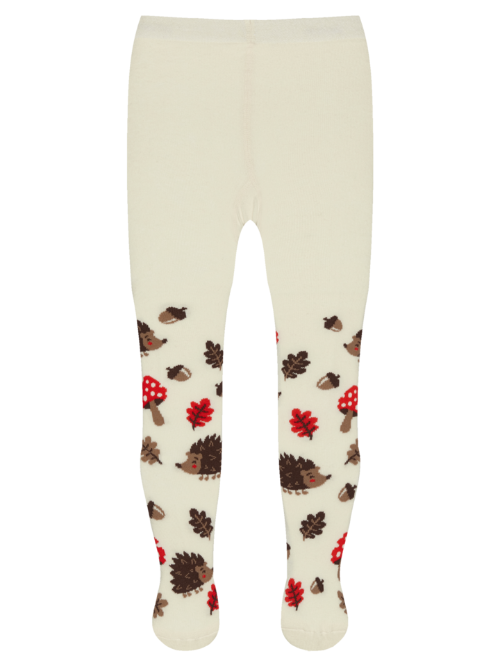 Looking for an original and unusual gift? The gifted person will surely surprise with Kids' Tights Forest Hedgehog
