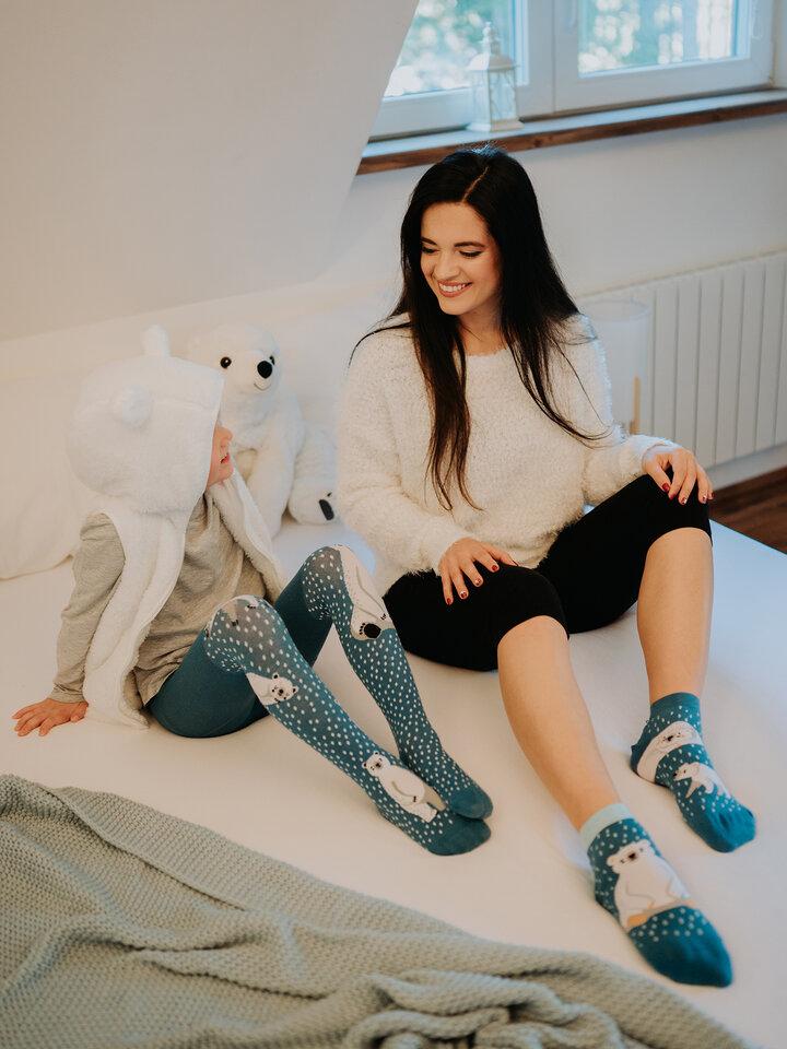 Potešte sa týmto kúskom Dedoles Collants rigolos pour enfants - Ours polaires