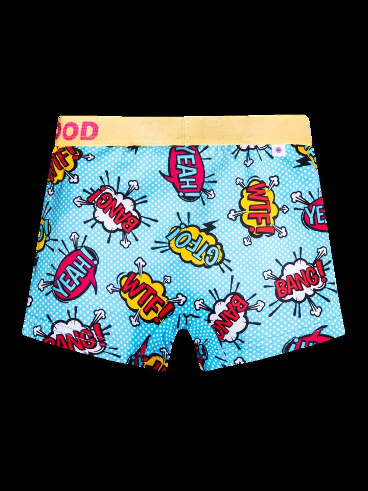 pro dokonalý a originální outfit Veselé chlapecké boxerkyKomiks