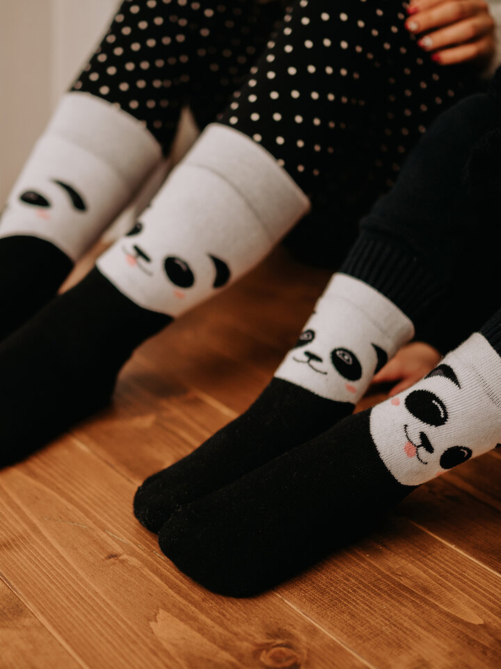 Gift idea Kids' Warm Socks Happy Panda