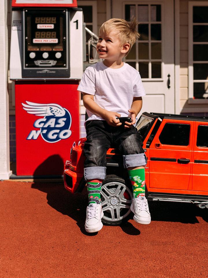 Obrázok produktu Vrolijke kindersokken Auto's