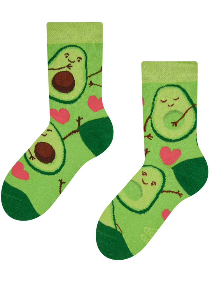 Original gift Kid's Socks Avocado Love