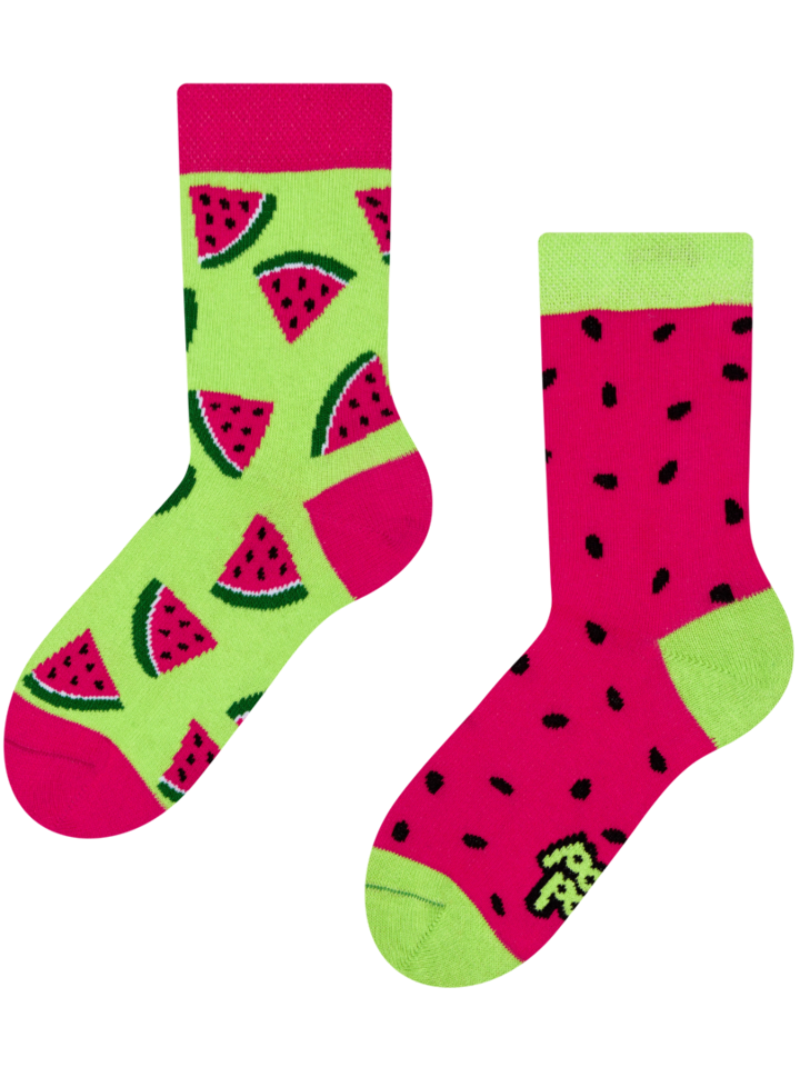 Looking for an original and unusual gift? The gifted person will surely surprise with Kid's Socks Watermelon