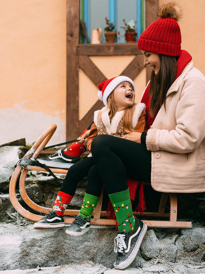 Foto Șosete Vesele pentru Copii Elfi