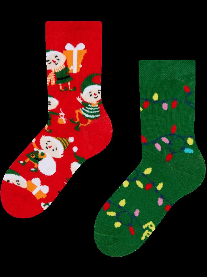 Pre dokonalý a originálny outfit Kids' Socks Elves