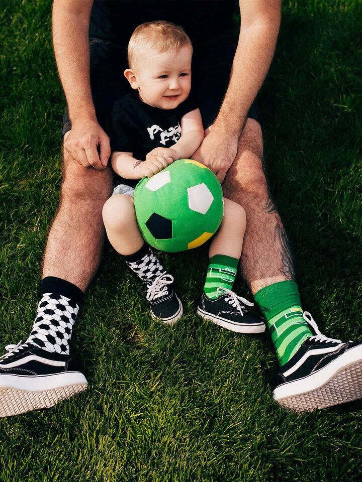 Rabatt Lustige Kindersocken Fußball