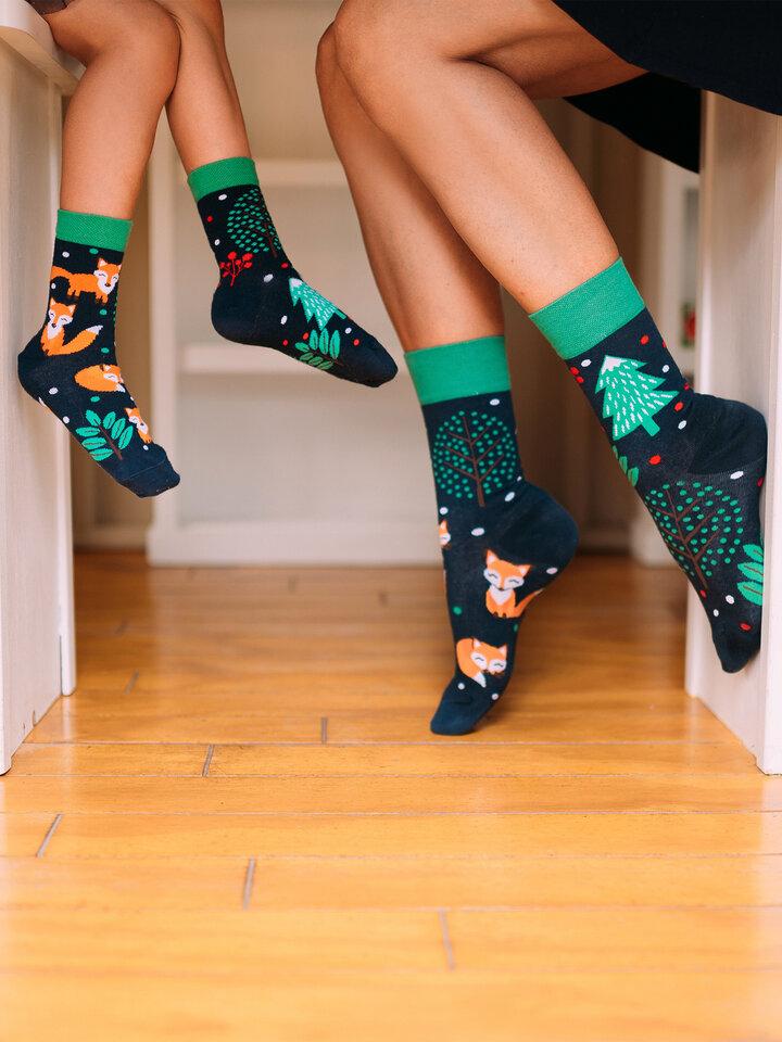 Výnimočný darček od Dedoles Vesele dječje čarape Crvena lisica