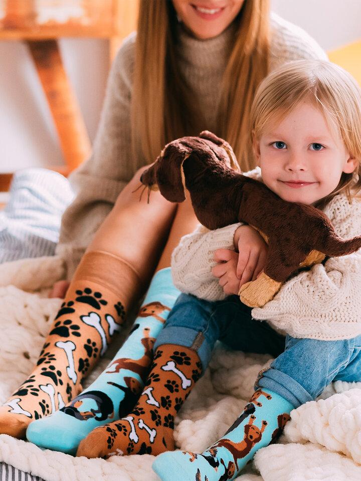Obrázok produktu Chaussettes rigolotes pour enfants Teckel