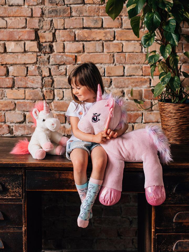 Obrázok produktu Chaussettes rigolotes pour enfants Licorne