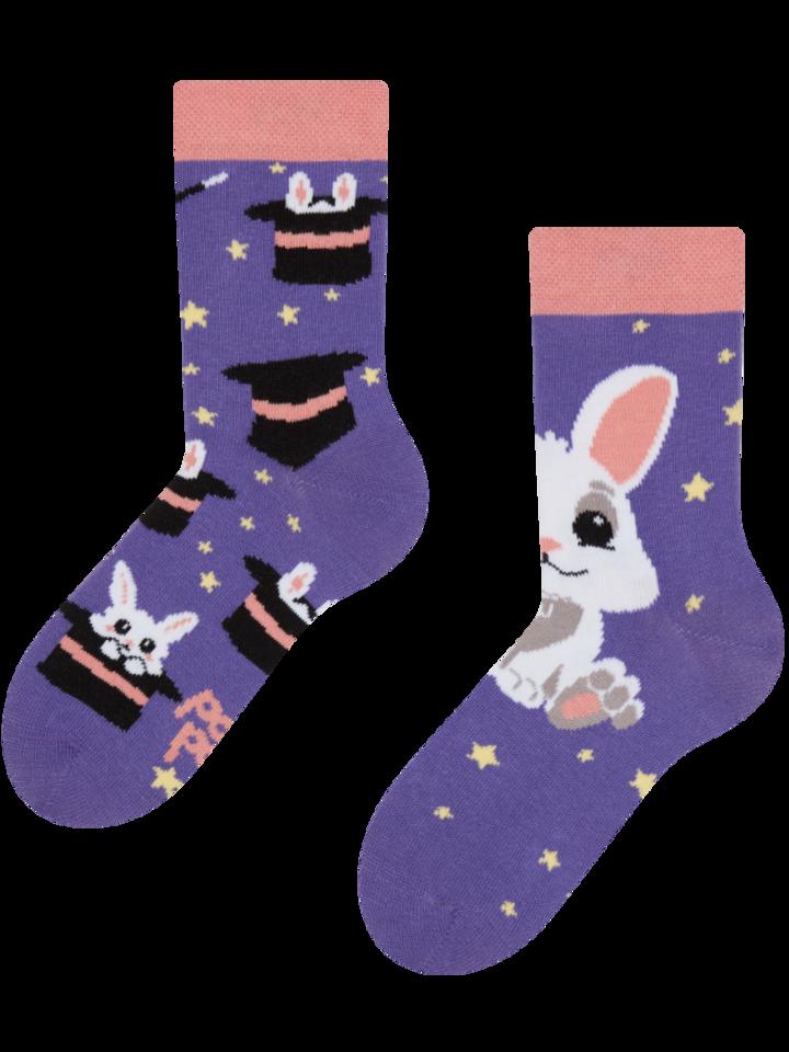 Wyprzedaż Wesołe skarpetki dziecięce Magiczny królik