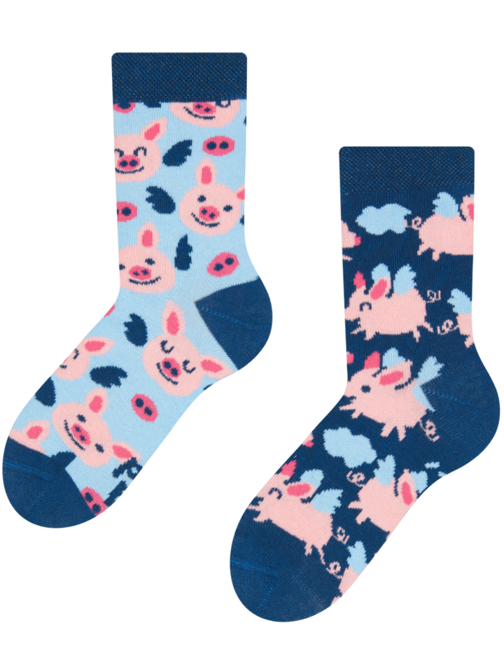 Sale Kids' Socks Flying Pigs