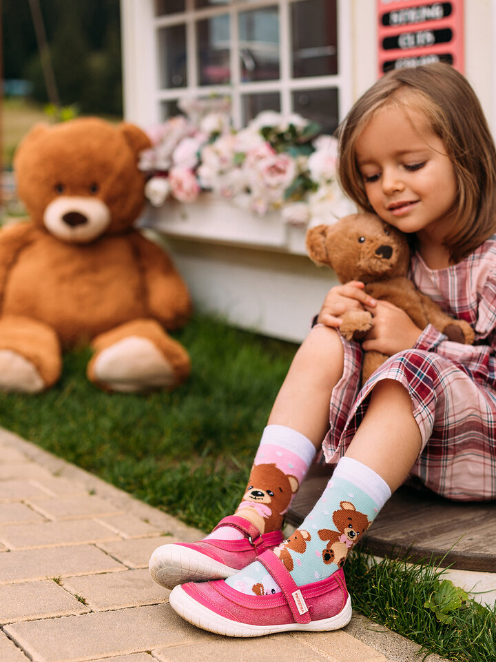 Sale Kids' Socks Teddy Bear