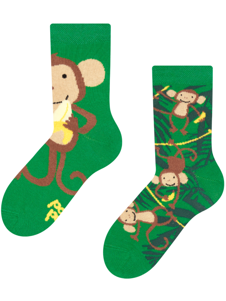 Lifestyle photo Kids' Socks Monkeys