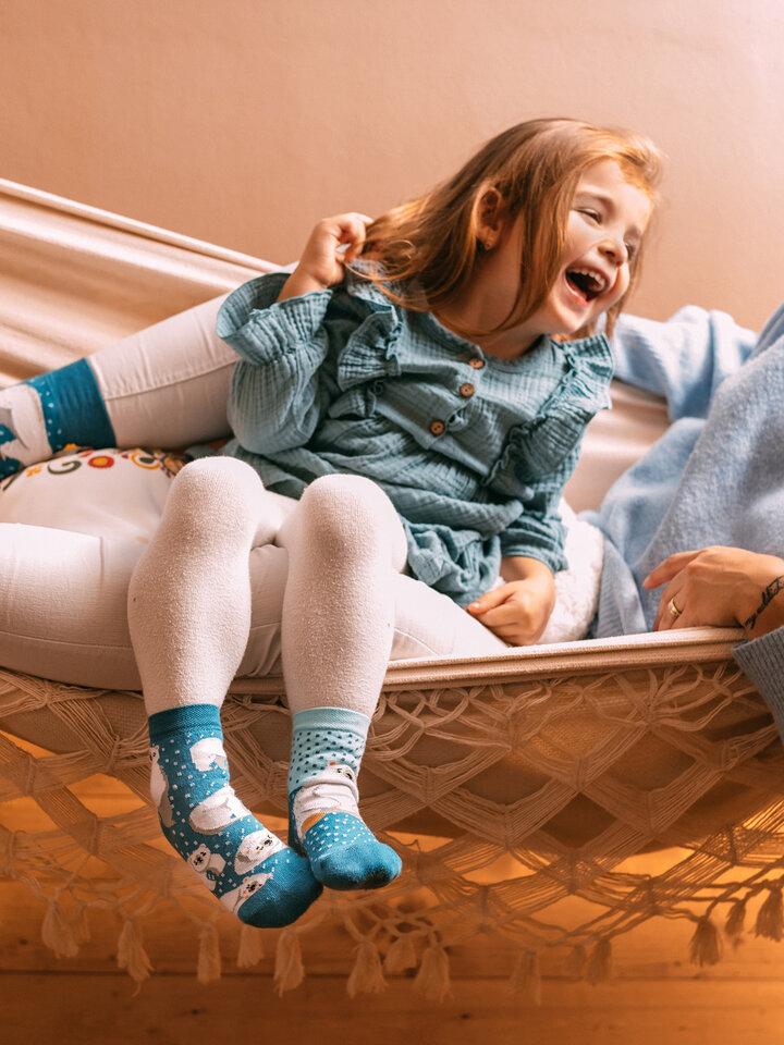 Výpredaj Vesele dječje čarape Polarni medvjedi