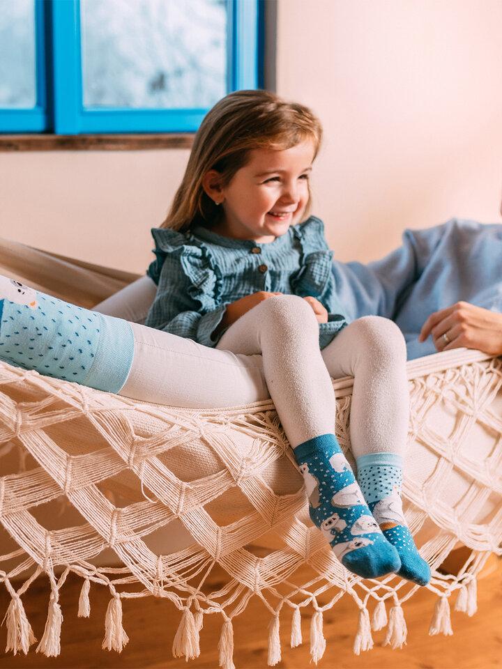 Zľava Vesele dječje čarape Polarni medvjedi