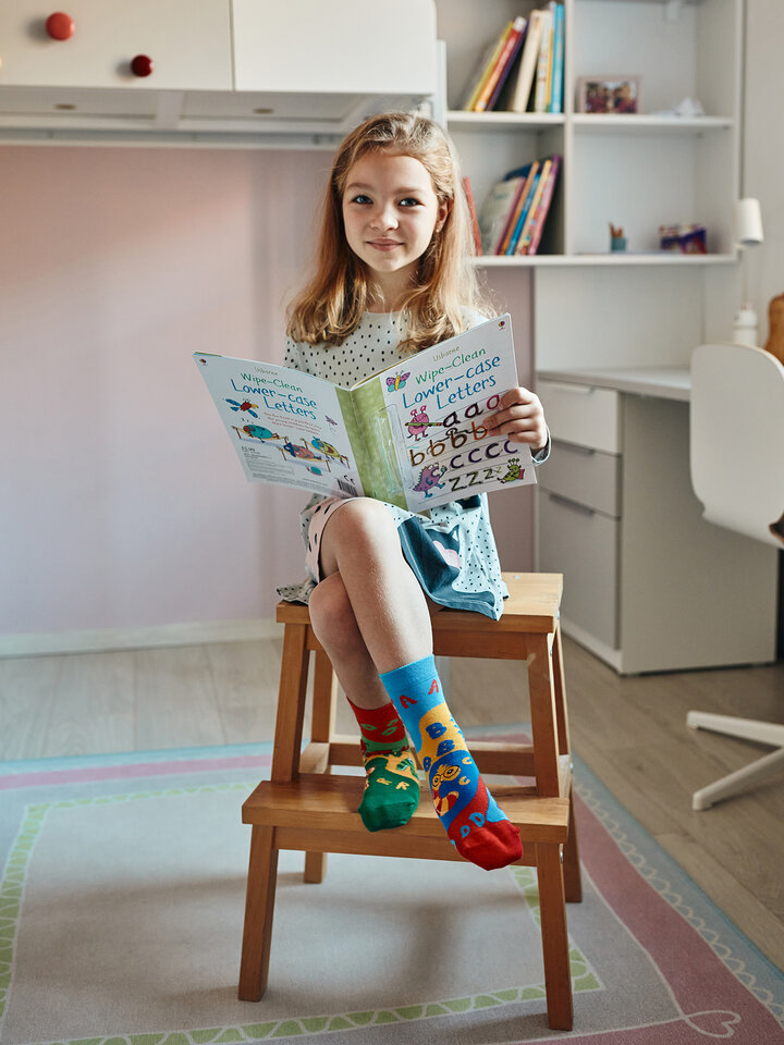 Lifestyle photo Kids' Socks First Letters