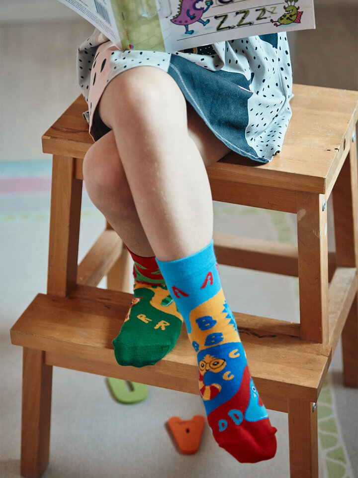 Original gift Kids' Socks First Letters