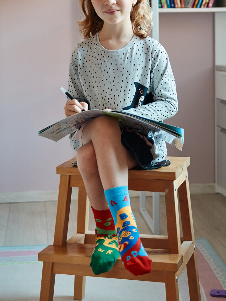 Gift idea Kids' Socks First Letters