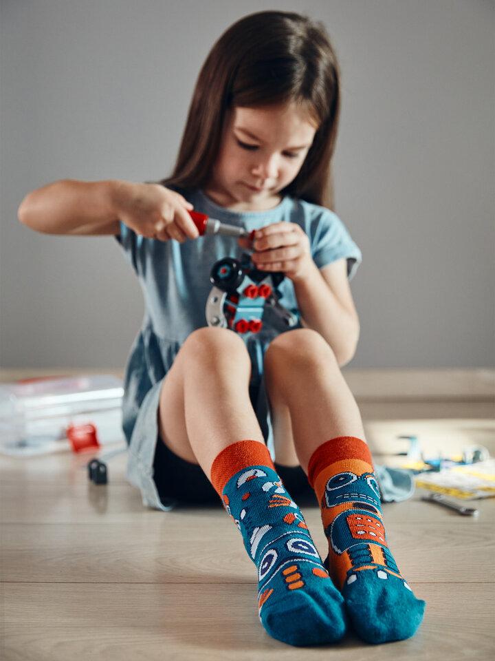 Výpredaj Calcetines infantiles alegres Robot