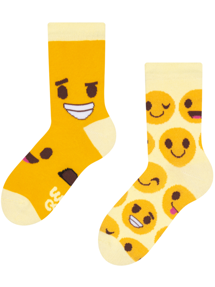 Obrázok produktu Detské veselé ponožky Smajlíky