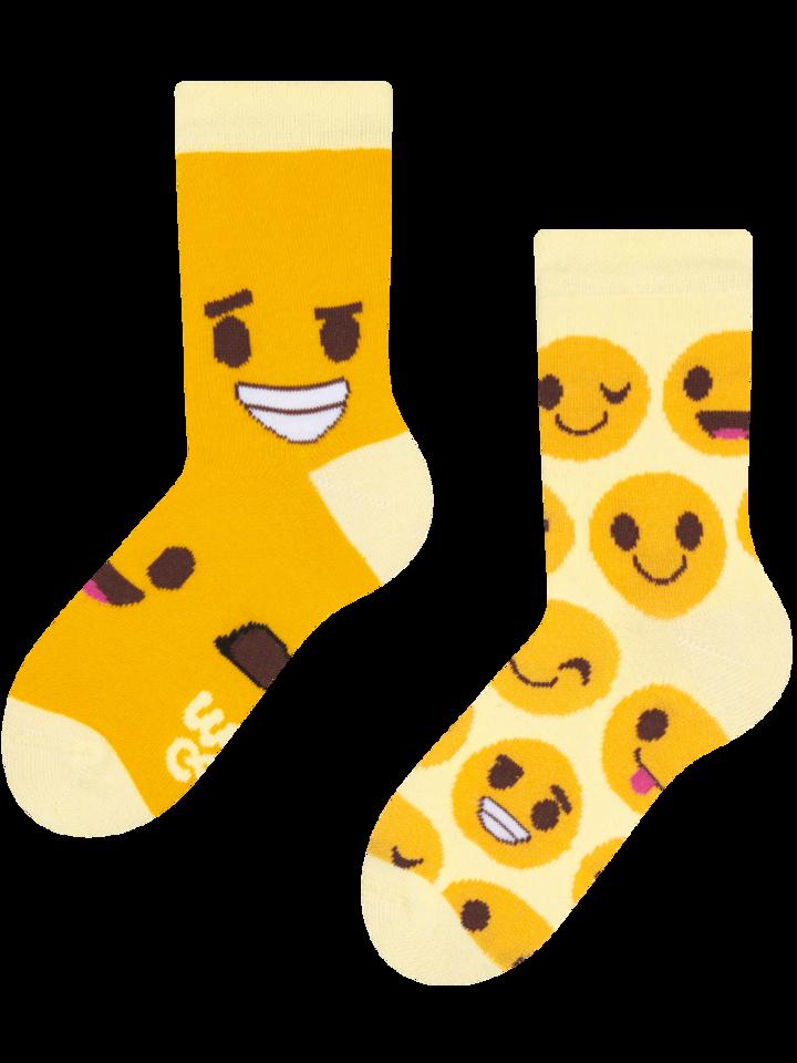 Obrázok produktu Весели детски чорапи Емотикони