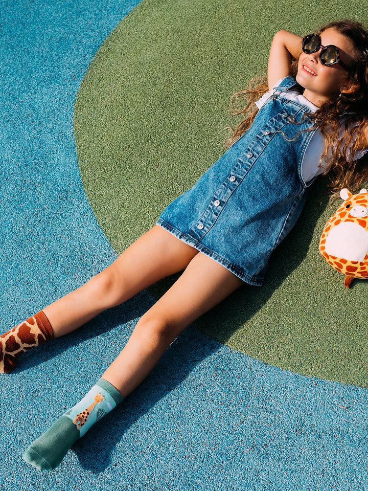 Obrázok produktu Весели детски чорапи Жираф