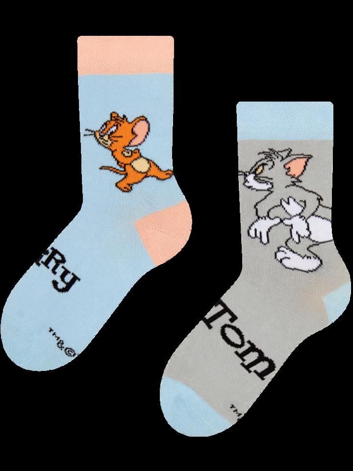 Výpredaj Vrolijke kindersokken Tom en Jerry ™ Valkuil
