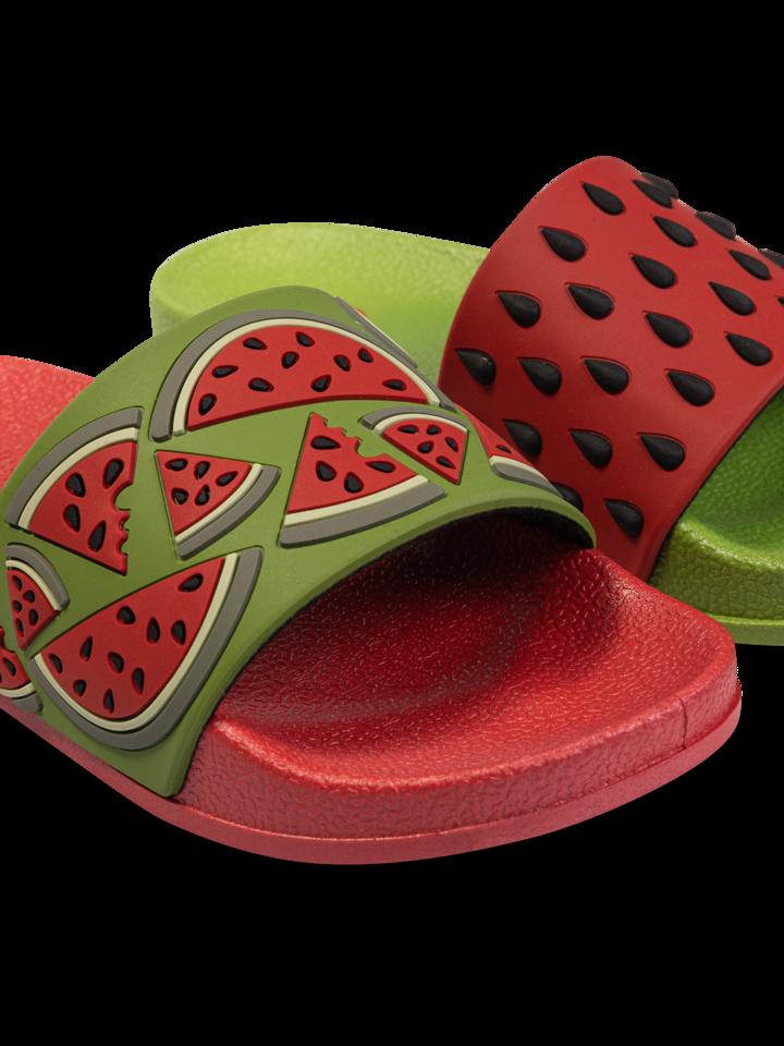 Tip na darček Veselé detské šľapky Červený melón