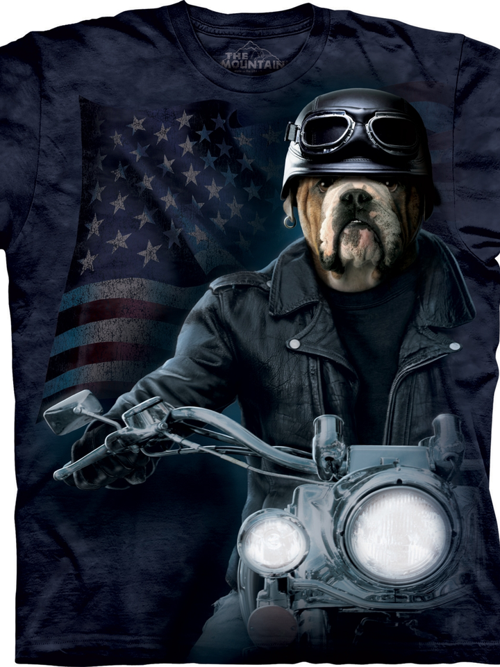 Výnimočný darček od Dedoles Tričko s krátkym rukávom Sam motorkár