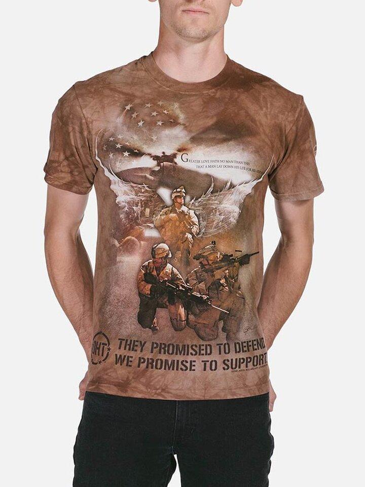 Výjimečný dárek od Dedoles Combat Soldiers T Shirt