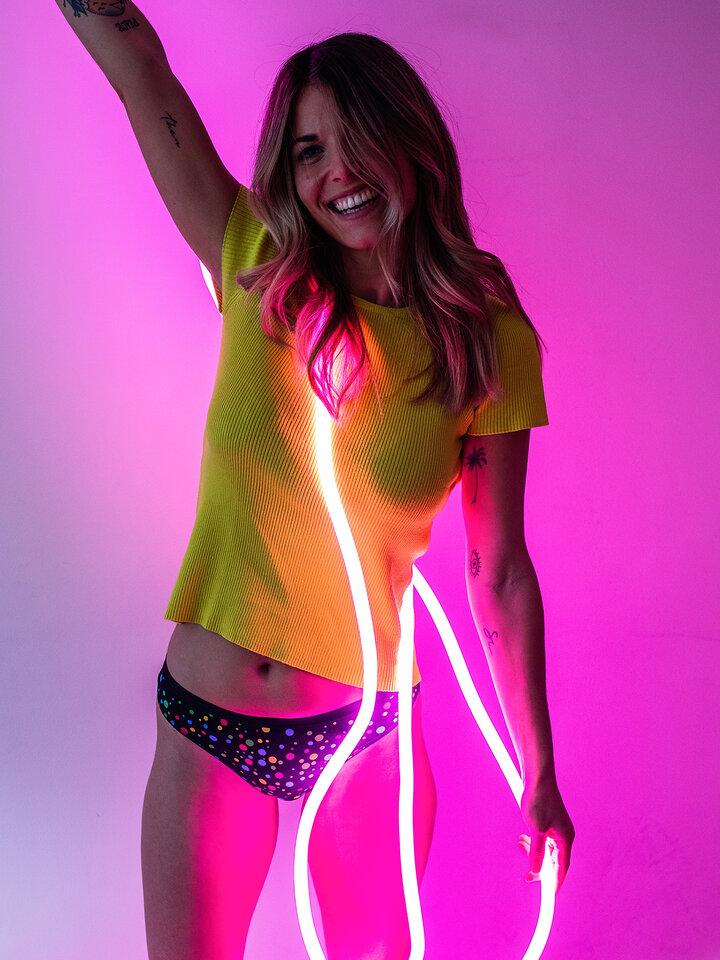 Tip na darček Culotte rigolote pour femmes Points néons