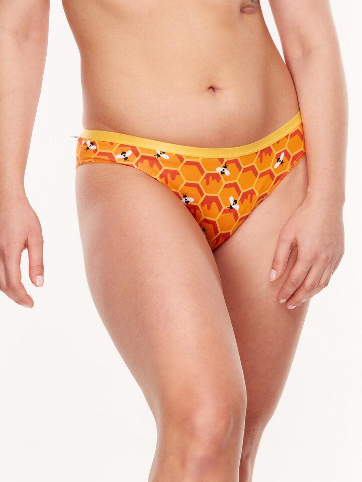 für ein vollkommenes und originelles Outfit Lustige Höschen für Frauen Honigwabe