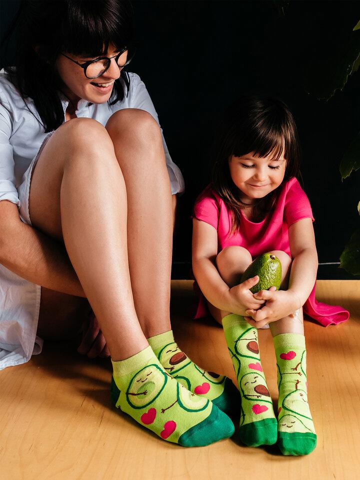 Bereiten Sie sich Freude mit diesem Dedoles-Stück Lustige Knöchelsocken Avocado-Liebe