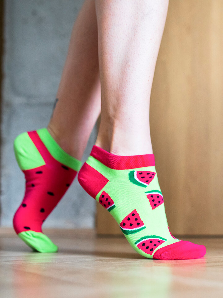 Gift idea Ankle Socks Watermelon