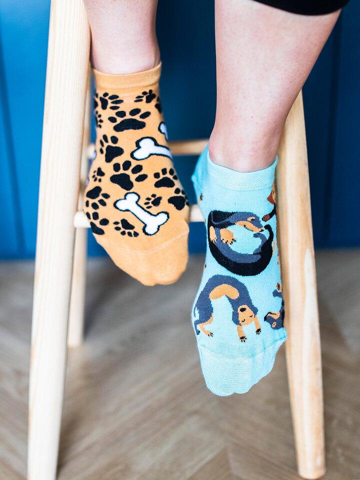 Sale Ankle Socks Dachshund