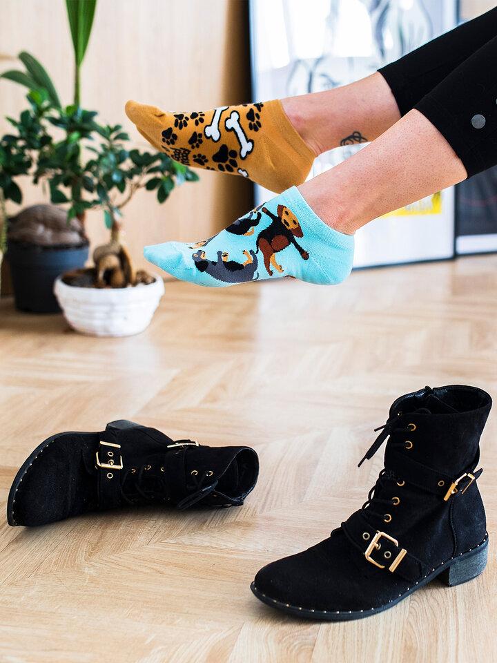 Pre dokonalý a originálny outfit Ankle Socks Dachshund