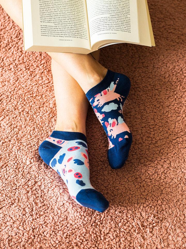 Potešte sa týmto kúskom Dedoles Ankle Socks Flying Pigs