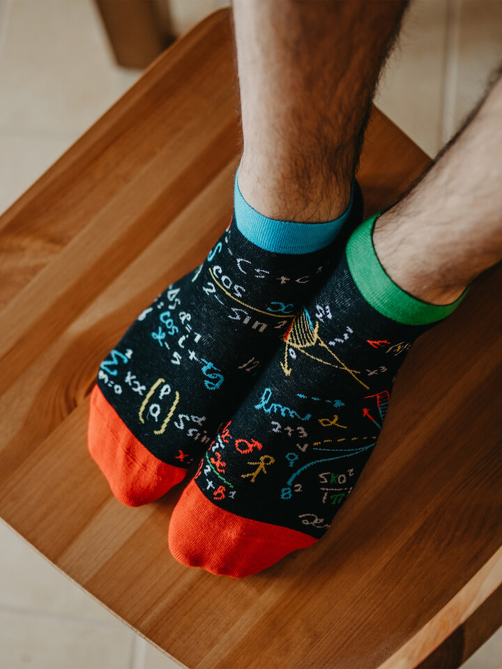 Pre dokonalý a originálny outfit Ankle Socks Mathematics