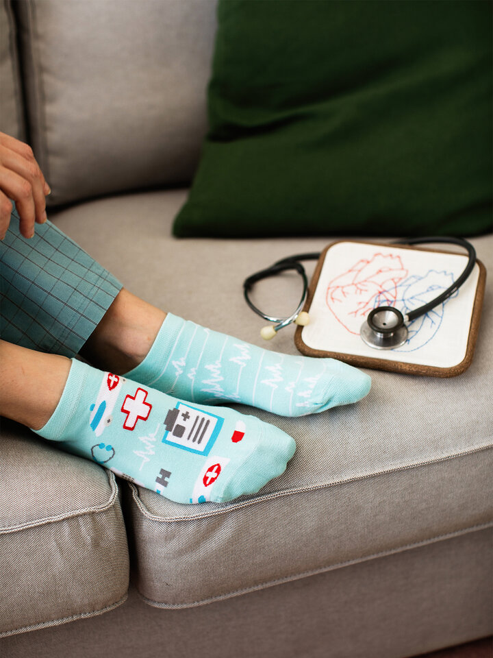 Gift idea Ankle Socks Medicine