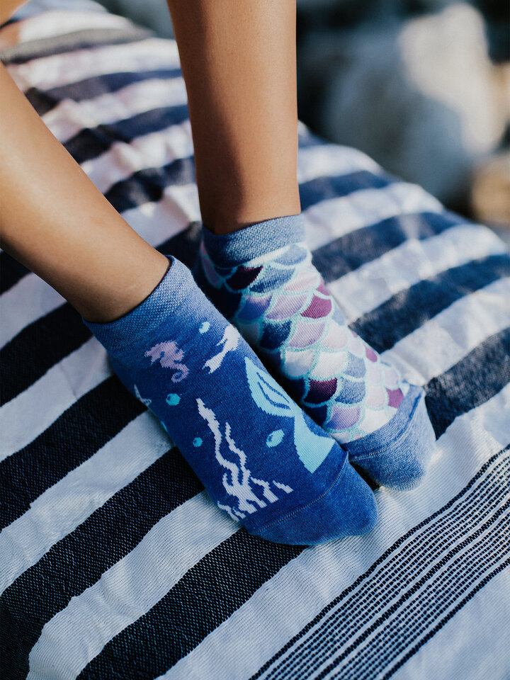Original gift Ankle Socks Mermaid
