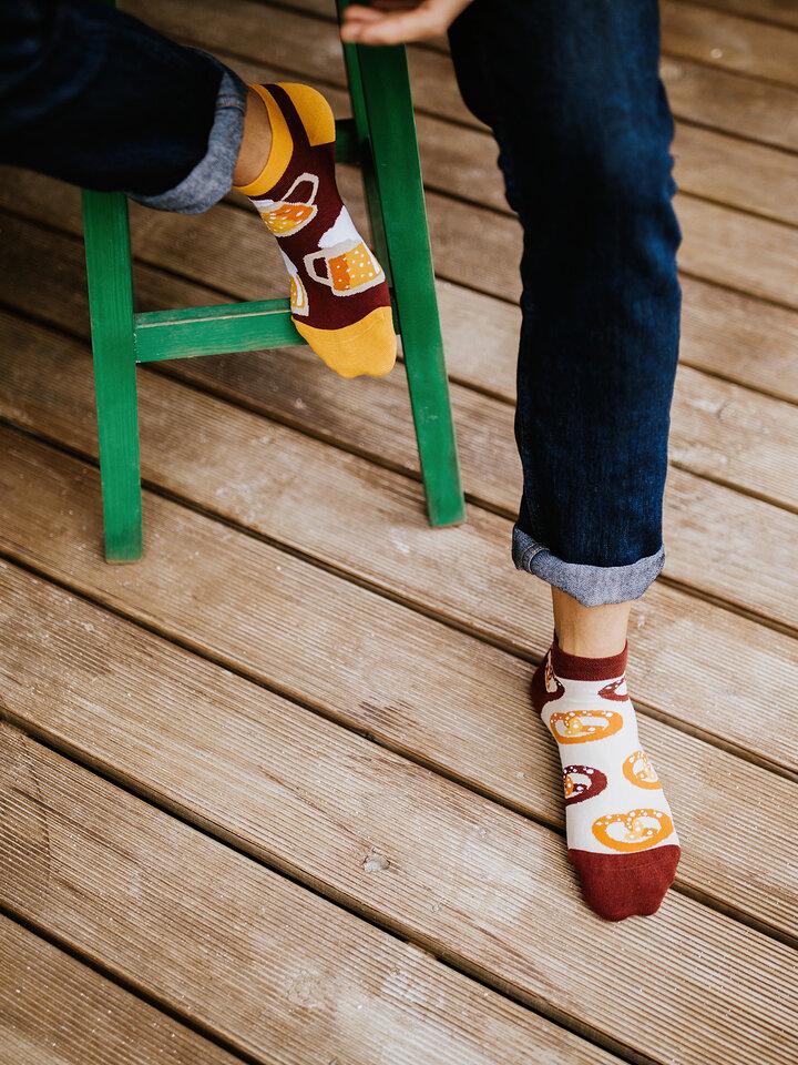 Pre dokonalý a originálny outfit Ankle Socks Beer